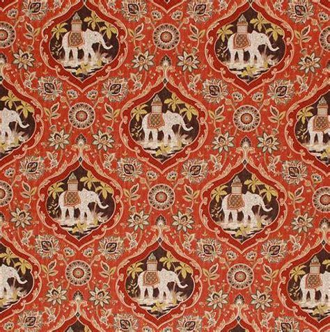 Elephant Upholstery Fabric by Elephant Upholstery Curtain Fabric By The Yard Orange