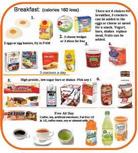 breakfast foods on 800 calorie hcg diet