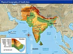 South East Asia Physical Map by South Asia Physical Maps Free Printable Maps