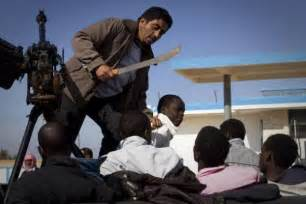 Resulted in wholesale killing of black people in libya the real revo