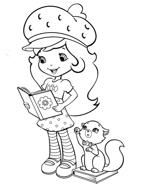 strawberry shortcake coloring book strawberry shortcake coloring page time toooo relax