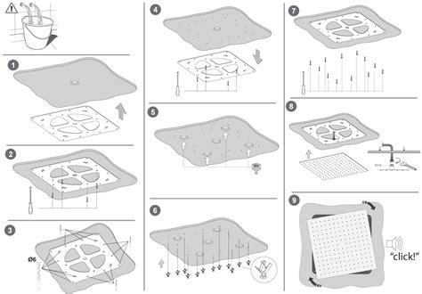 soffioni doccia a soffitto soffioni doccia da controsoffitto con montaggio facilitato