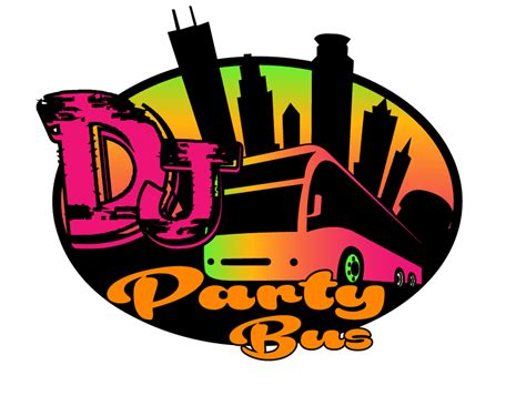 party bus logo party bus rentals minneapolis dj party buses twin cities