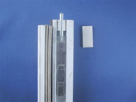 flat t astragal flush bolt steel