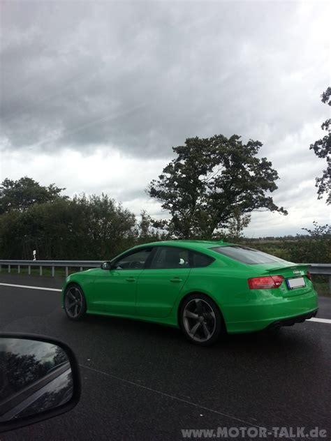 Audi A5 Farben by Audi A5 Gruen 3 Farbe Sportback Audi A5 B8 205661148