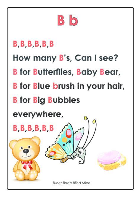 song for kindergarten abc rhymes posters bundle abc songs songs and phonics