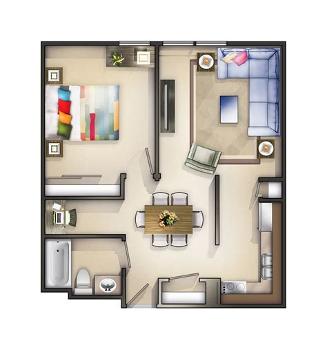 One Bedroom Apartments In Rockford Il rockford il apartment terrace floorplans