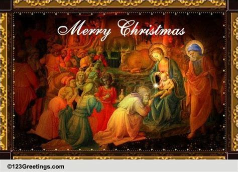 nativity christmas  nativity scene ecards greeting cards
