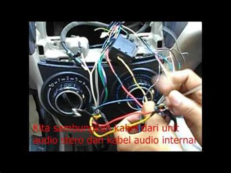 mengganti unit audio stereo toyota all new avanza vlog