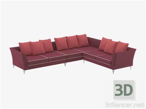 albion sofa 3d model corner sofa albion manufacturer visionnaire id 19502