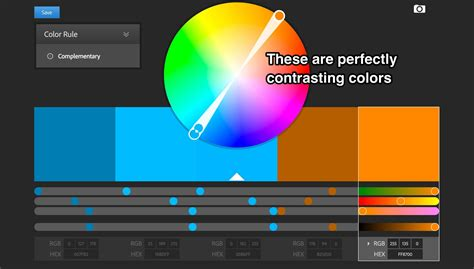 what are contrasting colors the 17 graphic design tips all non designers need to