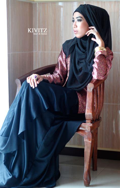 Etnik Maxy By Fashion fashion muslim nuansa etnik dengan songket