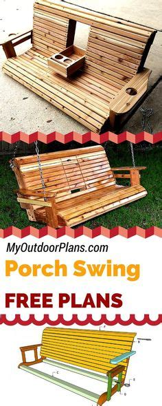 plans  wood porch swing plans  rotozip
