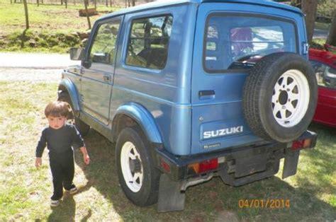 repair anti lock braking 1993 suzuki sj seat position control find used 1987 suzuki samurai jx hardtop in blue ridge georgia united states