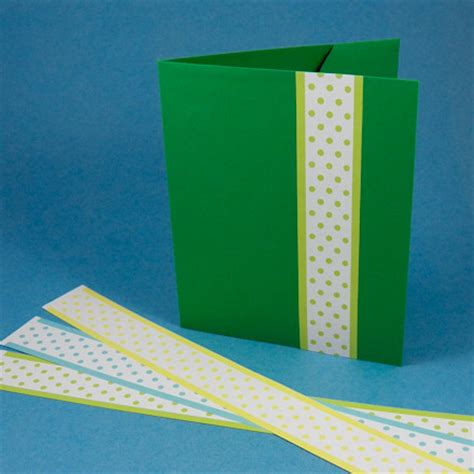 How To Make A Paper File Folder - tutorial for a greeting card pocket folder