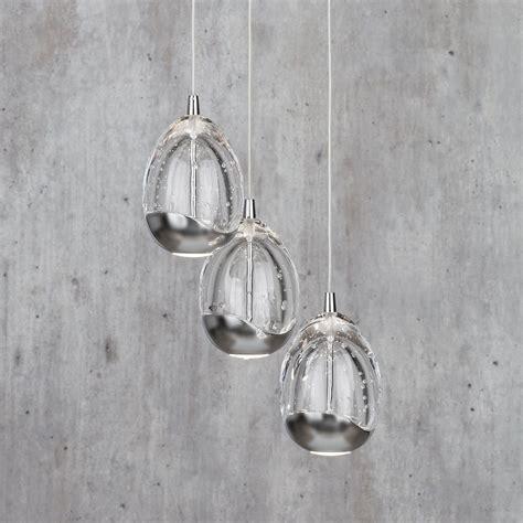 cluster pendant lighting tegg 3 light ceiling light cluster pendant chrome from