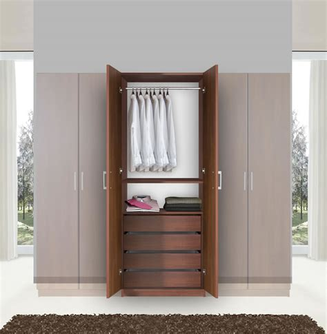 armoire closet wardrobe bella hanging wardrobe armoire closet contempo space