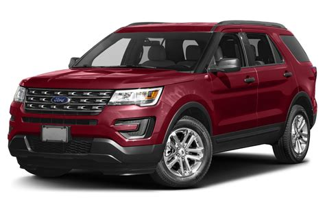 Ford Explorer Prices Reviews And New 2017 Ford Explorer Price Photos Reviews Safety Ratings Features
