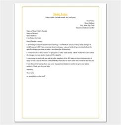 Appraisal Meeting Letter Sle Appointment Request Letter 14 Exles In Word Pdf