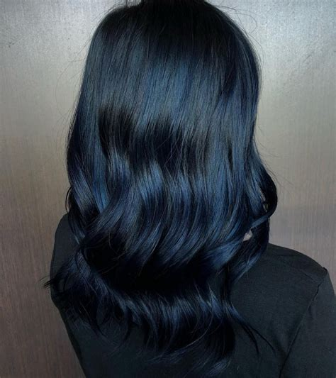 black blue hair color 19 most amazing blue black hair color looks of 2019