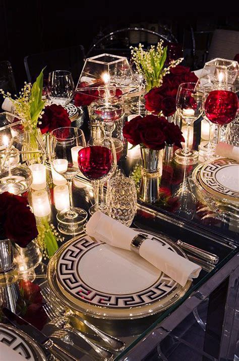elegant christmas table setting with pink and gold vt home how to set holiday table visual therapy