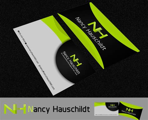 life by design home business business card design for nancy hauschildt life coaching by
