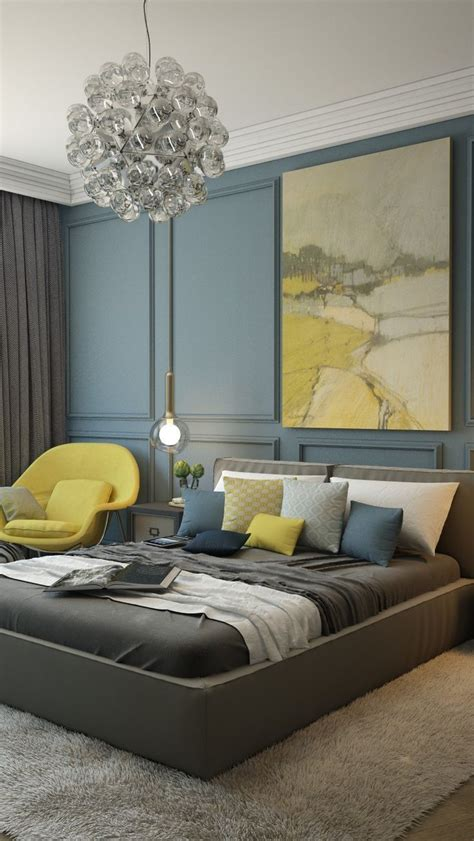 Blue Yellow Bedroom Ideas by Best 25 Blue Gray Bedroom Ideas On Blue Gray