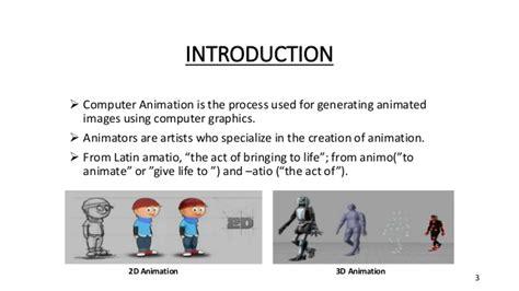 computer animation basics an introduction computer animation computer graphics