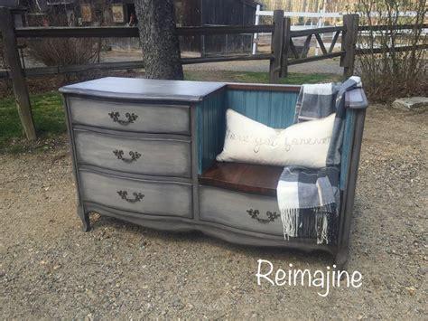 diy repurposed furniture stroovi 17 best ideas about dresser to bench on pinterest