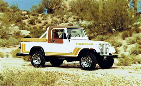 jeep scrambler 1982 car and driver