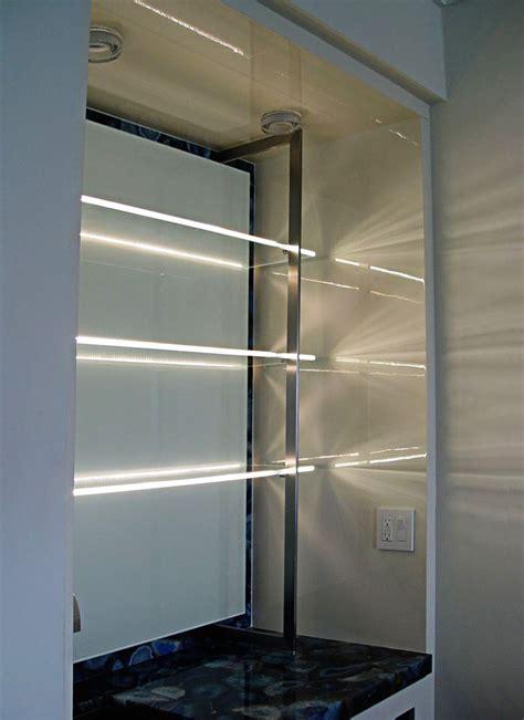 led glass shelf lighting aluminum led channel for 6mm glass klus ex alu series