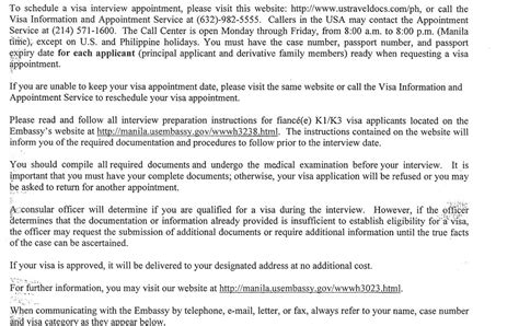 Sle Resume For Us Embassy 100 Visa Appointment Letter Appointment Letter For Visa Exle Student