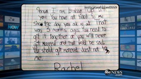 up letter goes viral s adorable braking up letter goes viral abc