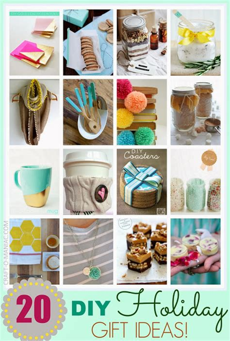 Top Handmade Gifts - top 20 diy gift ideas
