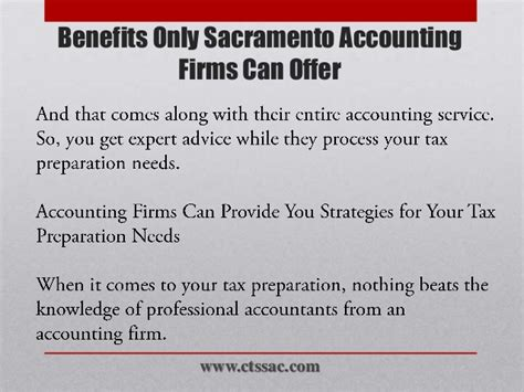 Can You Become A Cpa With Only An Mba by Benefits Only Sacramento Accounting Firms Can Offer