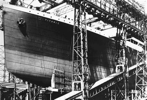new titanic boat being built titanic is