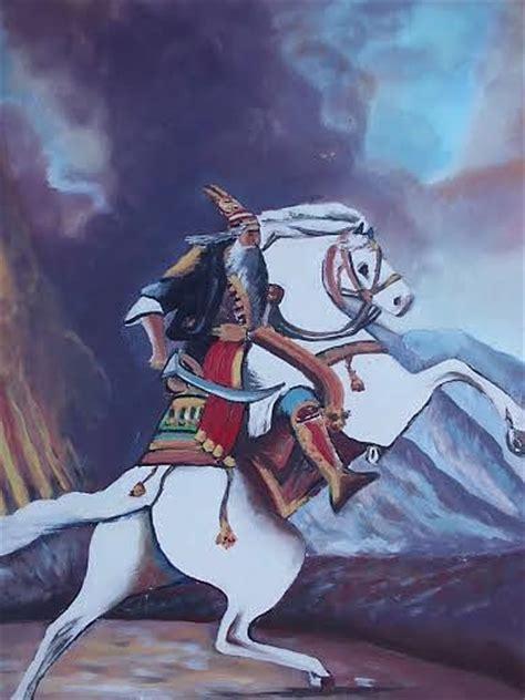 Home Decor Paintings by Gjergj Kastrioti Skenderbeu Painting By Defrim Hoxha