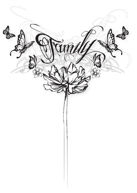 the word family tattoo designs family butterfly by symons photography on deviantart