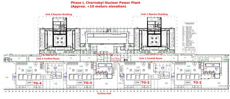 facility layout strategy inside chernobyl nuclear power plant 2011 part ii