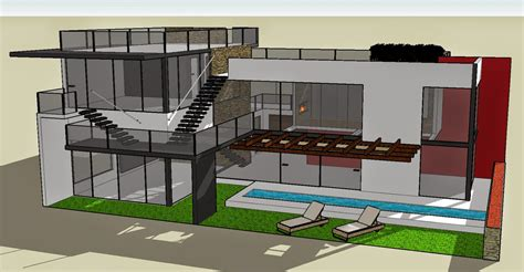 google sketchup bungalow model bungalow layout cloud atlas house plan sketchup house plan 2017
