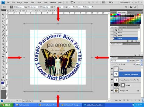 membuat tulisan outline di photoshop membuat teks melingkar dengan photoshop cs trin tin tin
