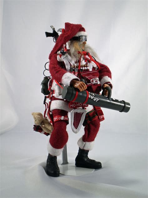 on sale military santa claus commando claus breacher one