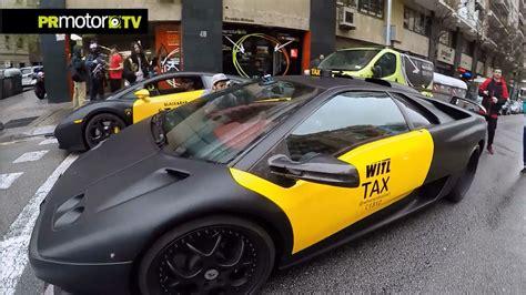 Joseph R Ferrari by 2 Lamborghini Taxis X Barcelona Con Josef Ajram Sebas