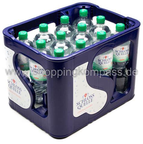 1 kasten wasser mineralwasser schloss quelle mineralwasser medium kasten