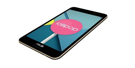 android 5 0 tablet asus android 5 0 lollipop tablet has arrived