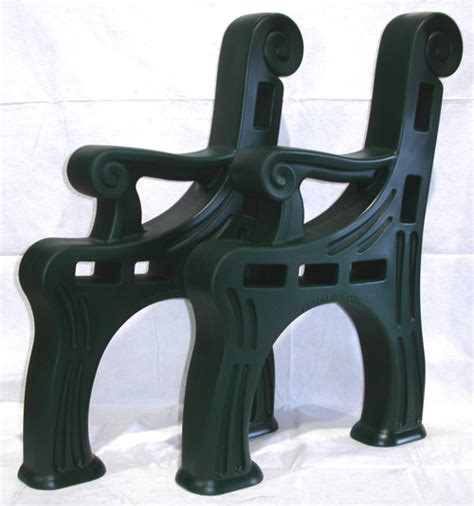 plastic bench ends 2x4 plastic bench ends 28 images vinyl outdoor benches sdm