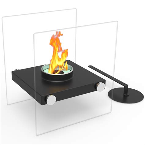 Portable Ventless Fireplace by Regal Luminox Ventless Tabletop Portable Bio Ethanol