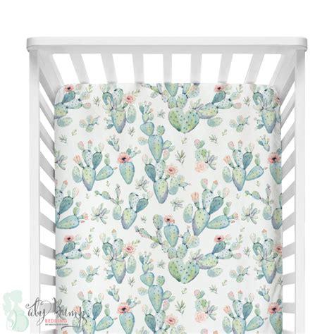 boho crib bedding boho cactus modern baby girl crib bedding
