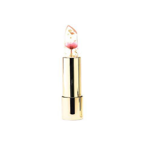 Kalijumei Lipstik Flower Jelly jelly effiore lipstick moisturizing submerged flower clear color changing ebay