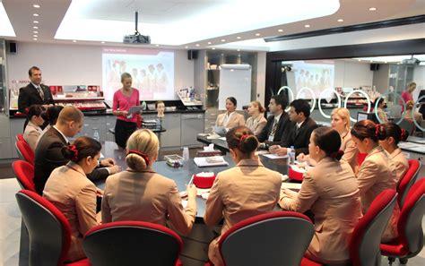 cabin crew trainer flight attendant of emirates world stewardess crews